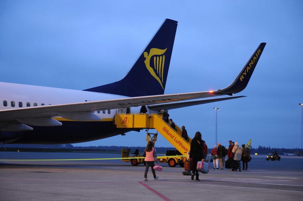Boeing 737-800 - Ryanair - Billund Lufthavn - Danmark