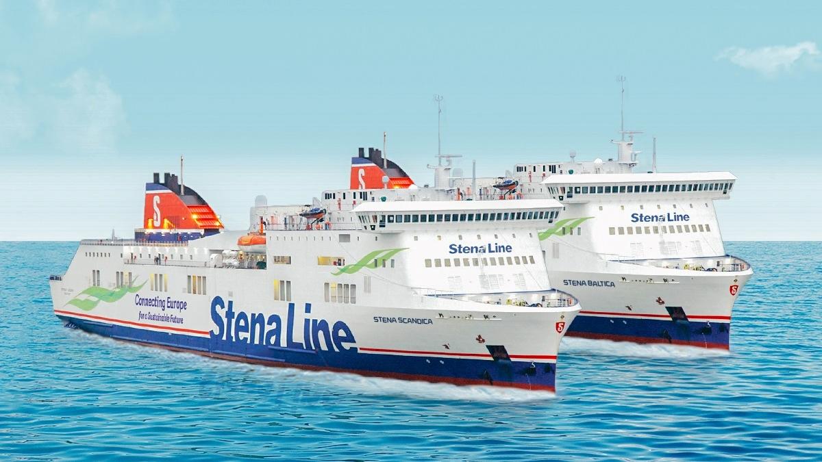 Stena Scandica - Stena Baltica -Østersjøferjer 2021
