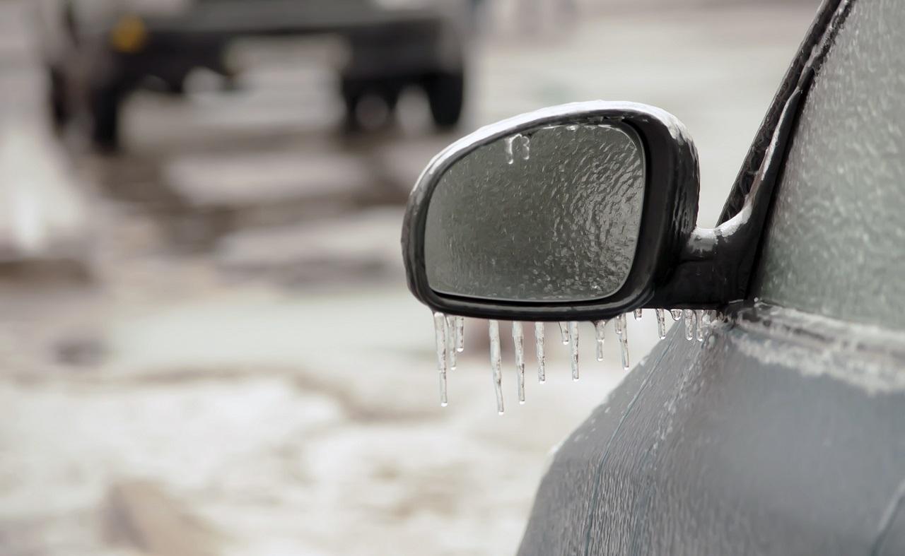 Underkjølt regn - frost - glattis - Glattkjøring - NAF
