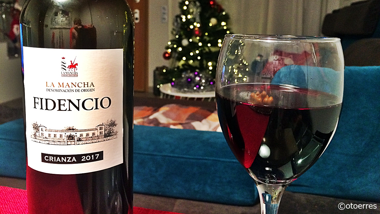 Rødvin - Stue - juletre - Spania - Mobilbilde