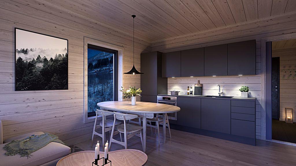 Kjøkken - Svoletunet - Myrkdalen - Voss - Vestland