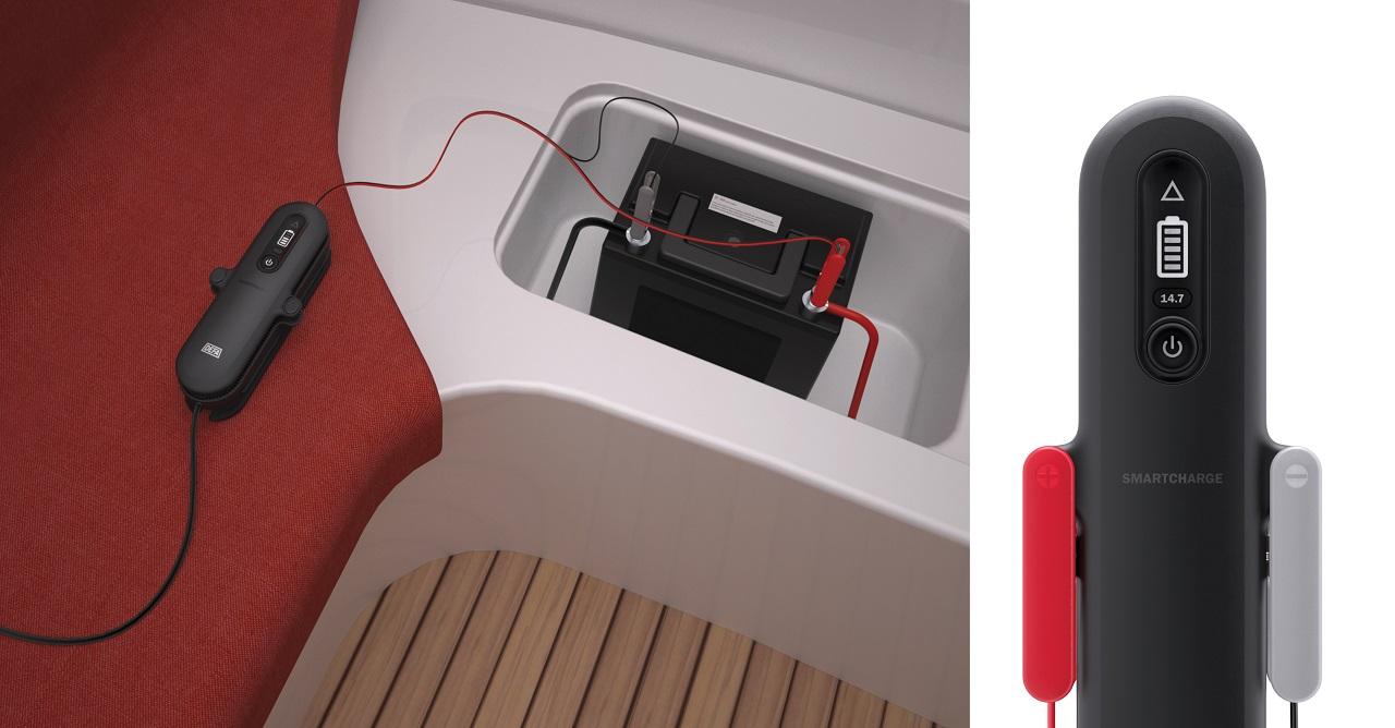 Batterilader - fritidsbåt - DEFA - Redningsselskapet - 2020