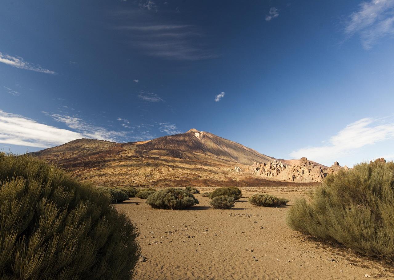 Teide - Fjelltopp - Vulkan - Tenerife - Kanariøyene - Spania