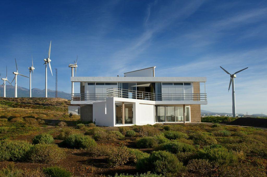 Bioklimatisk hus - Tenerife - Kanariøyene