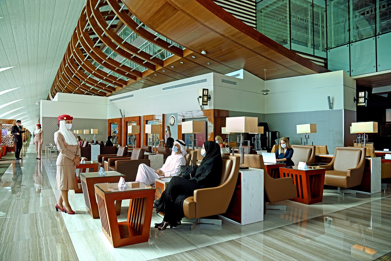 Emirates Business Class Lounge - 2020
