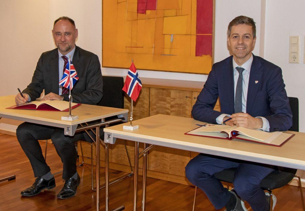 Knut Arild Hareide - Luftfartsavtale  Norge - Storbritannia - Brexit - 2020