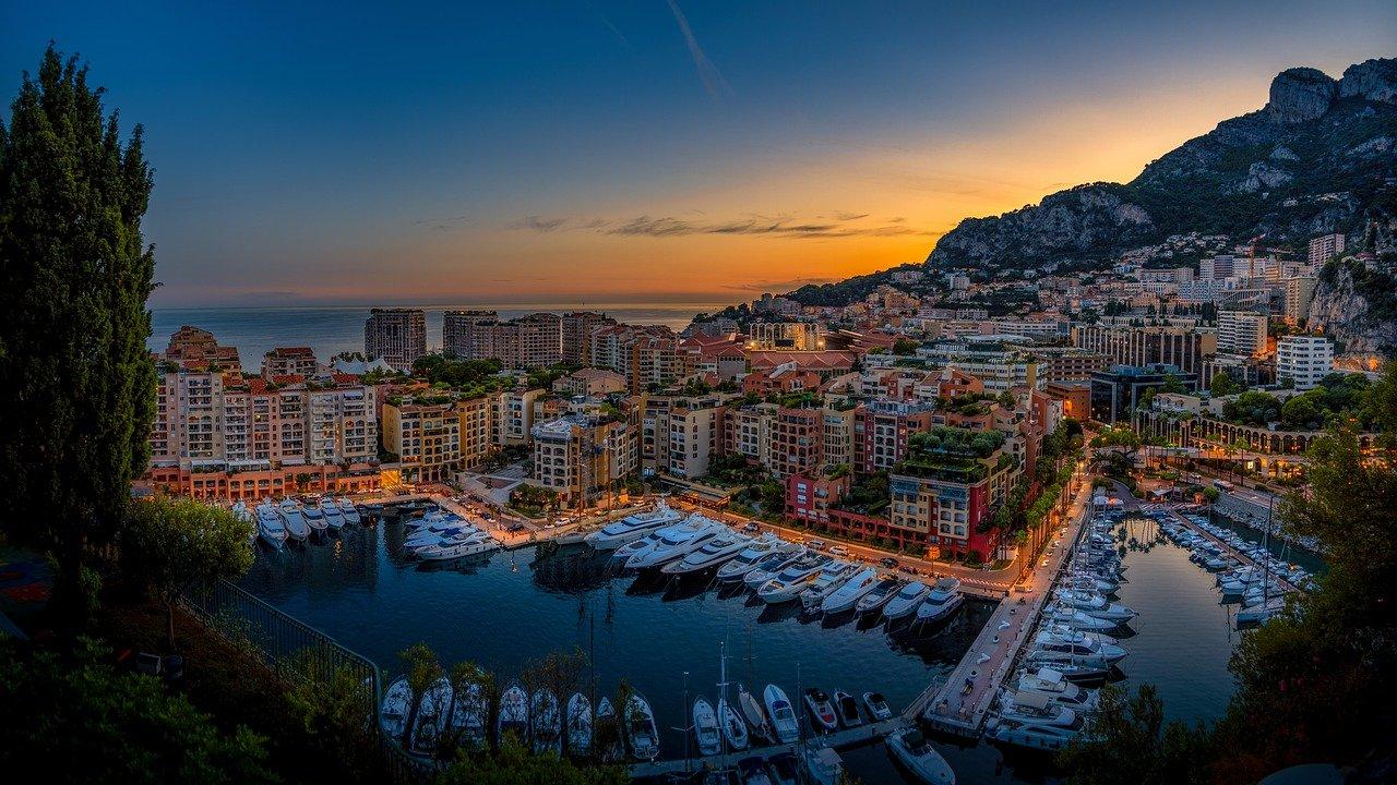Monte Carlo - Monaco - Rivieraen - Middelhavet