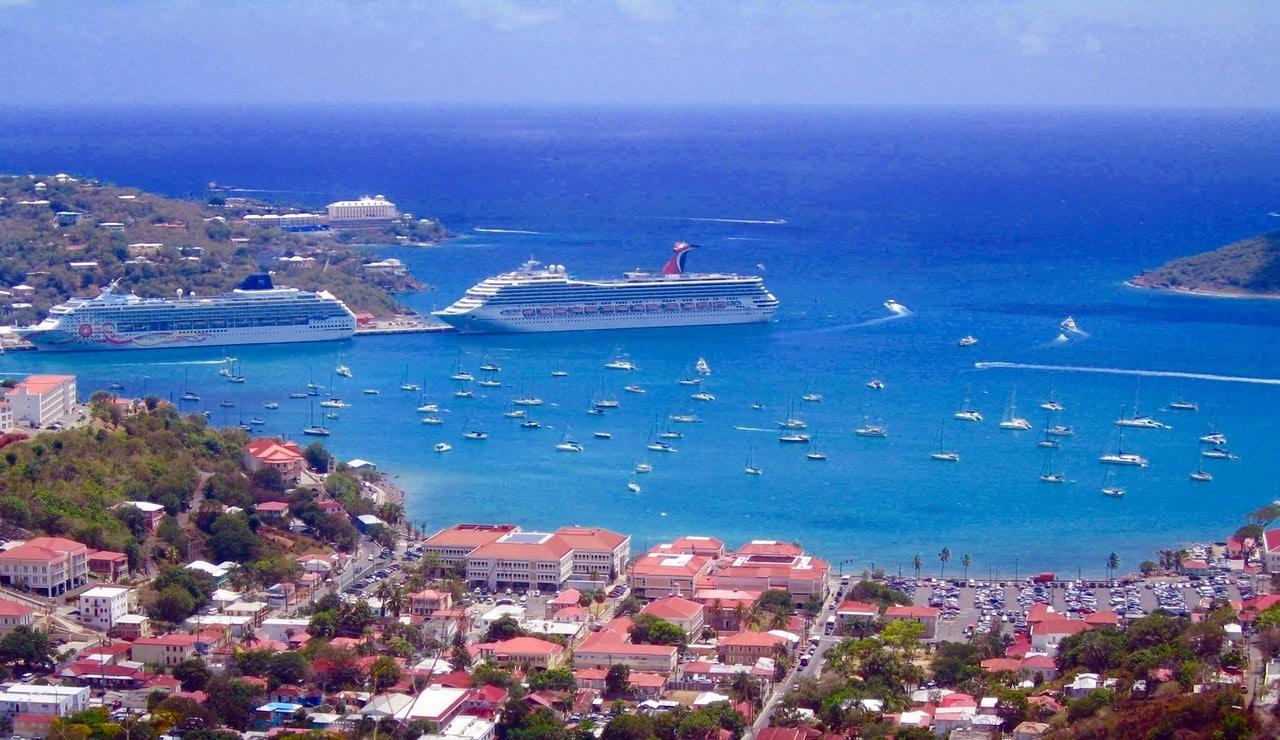 Cruiseskip i Karibien - Pexels