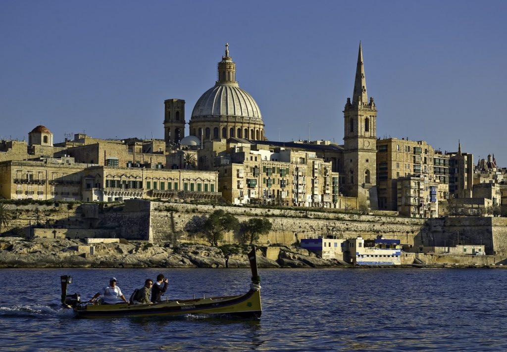 Småbåt - Valletta - Malta - - Kyst - Middelhavet