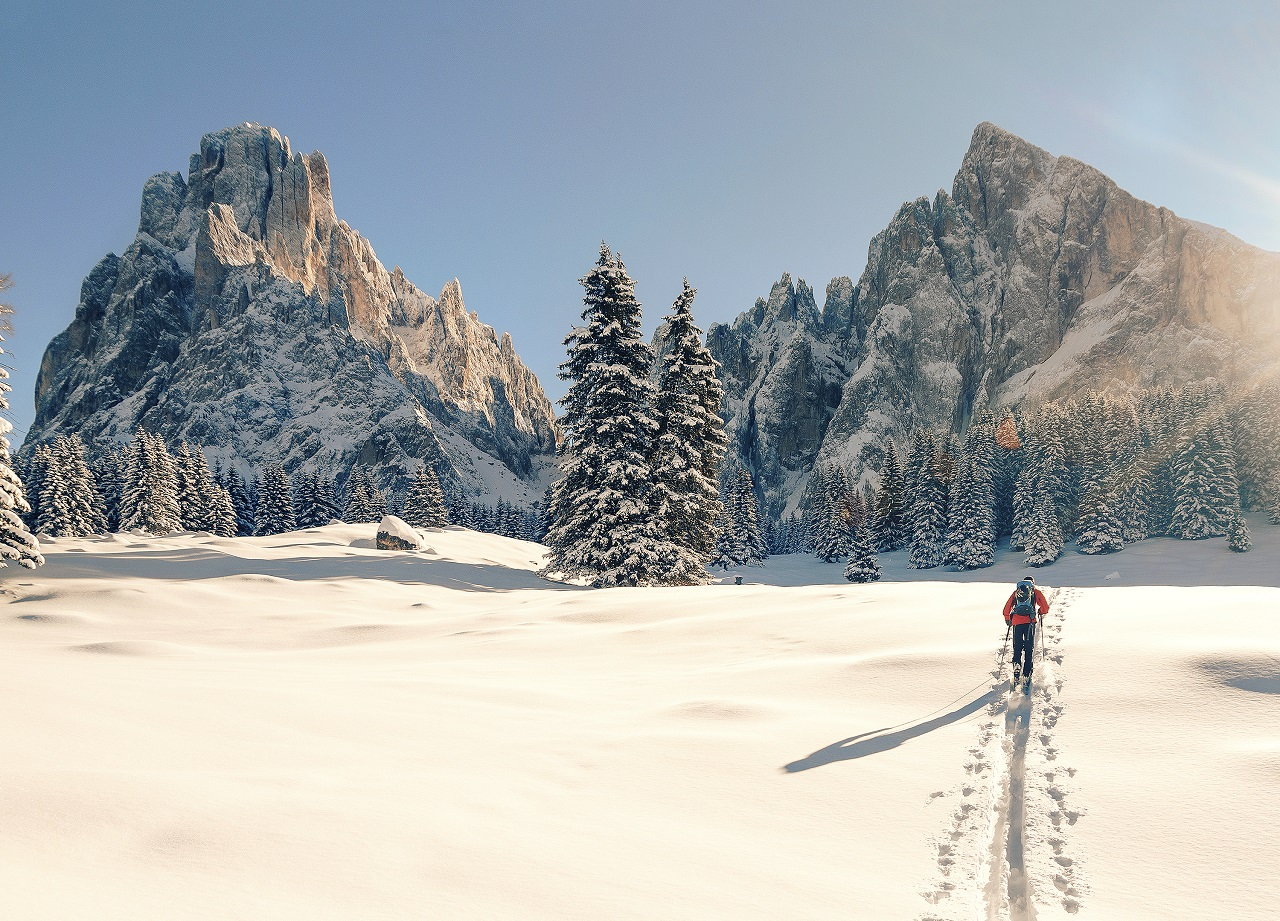 Skitur - Val Gardena - Nord-Italia
