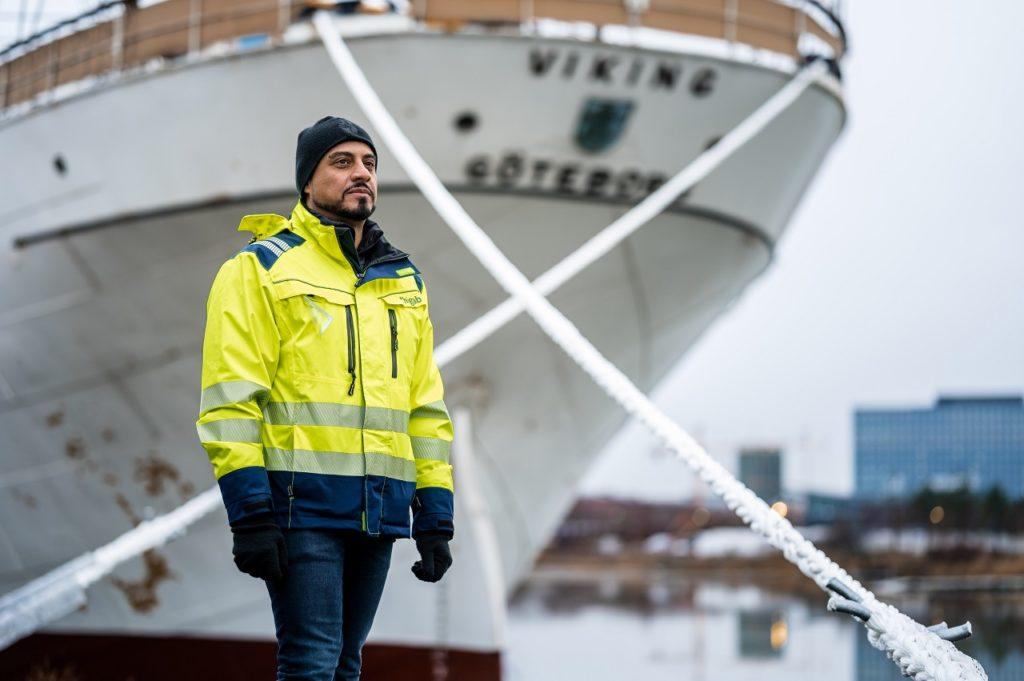 Siman Jasim - prosjektleder - Barken Viking - Gøteborg - 2021