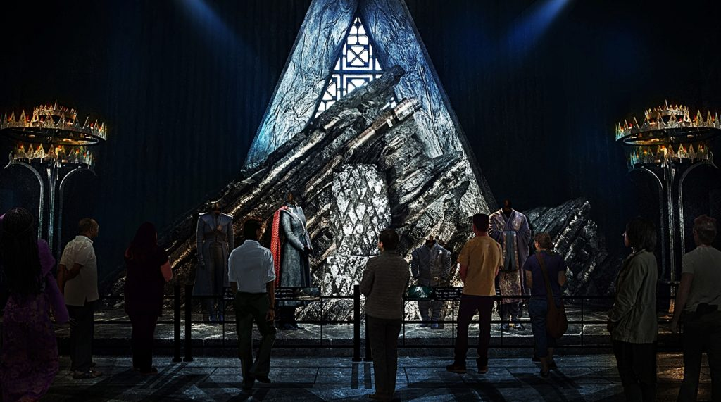 Irland -Lead Dragonstone Throne Room