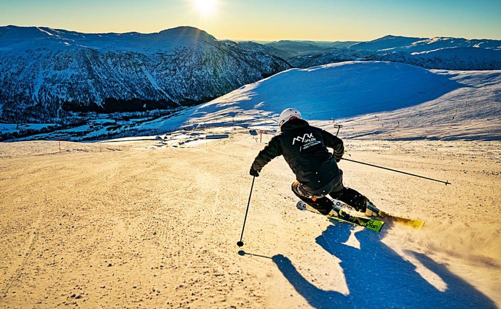 Alpinist - skisport - Myrkdalen Fjellheiser - Myrkdalen - Flåm - Vestland fylke