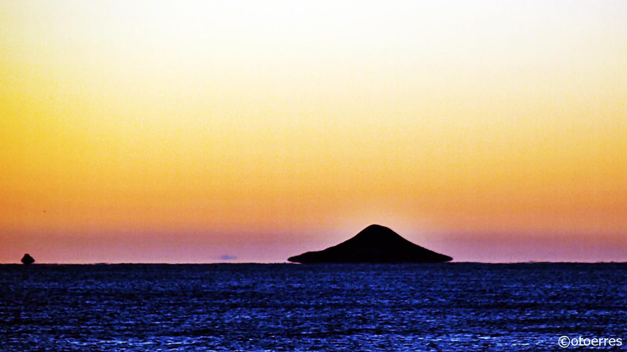Soloppgang - La Manga - Mar Menor - Costa Calida - Spania