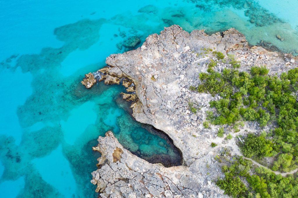 St. Maarten blue - Karibien
