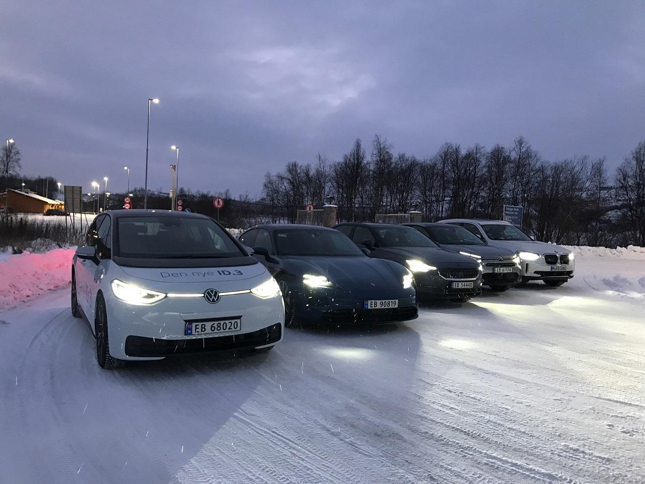 Elbiltest - Nord-Norge - Vinteren 2021 - Norsk elbilforening