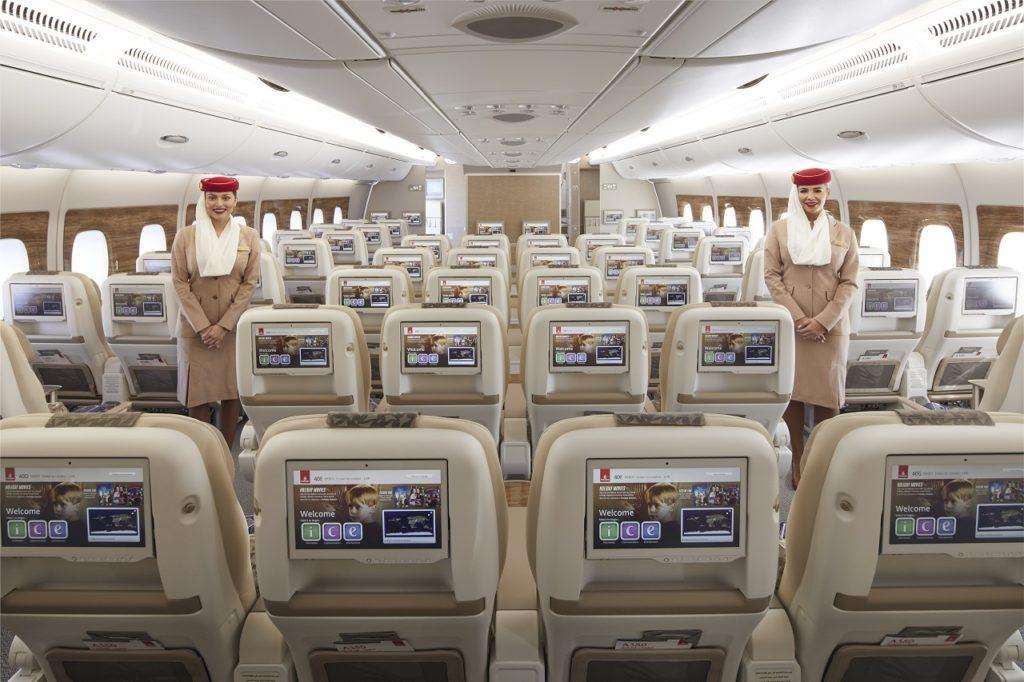 Emirates - Airbus A380 - Premium Economy - Kabin - 2021