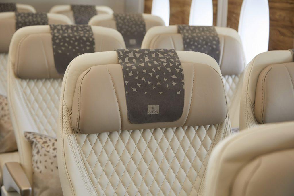 Emirates - Premium Economy sete - 2021