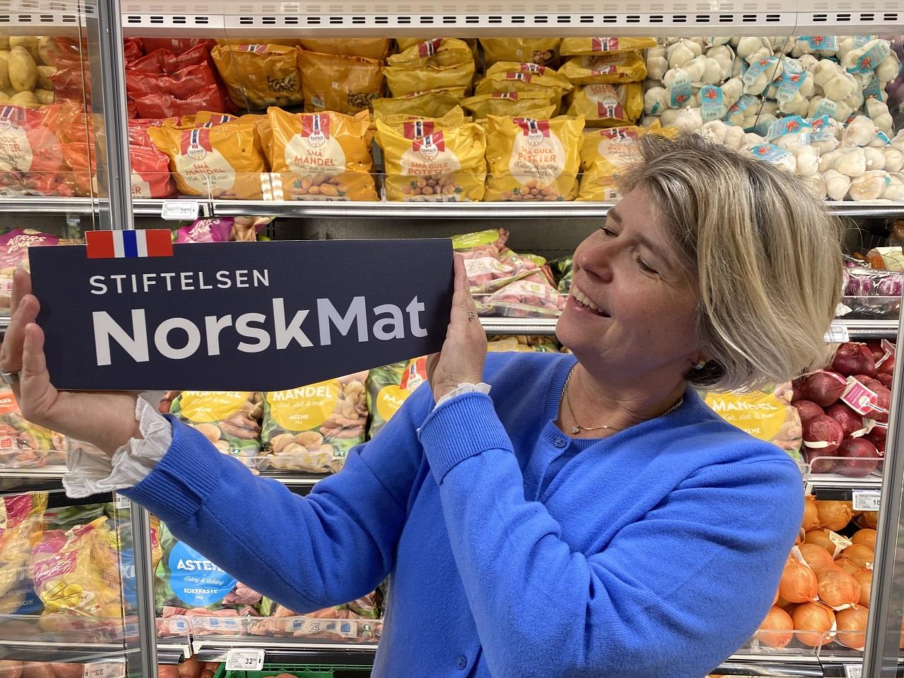 Logo - Stiftelsen Norsk Mat - Matmerk - Nina Sundqvist