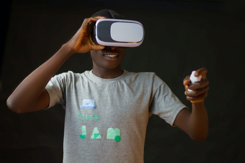 VR-briller - Virtual Reality(VR)-teknologi