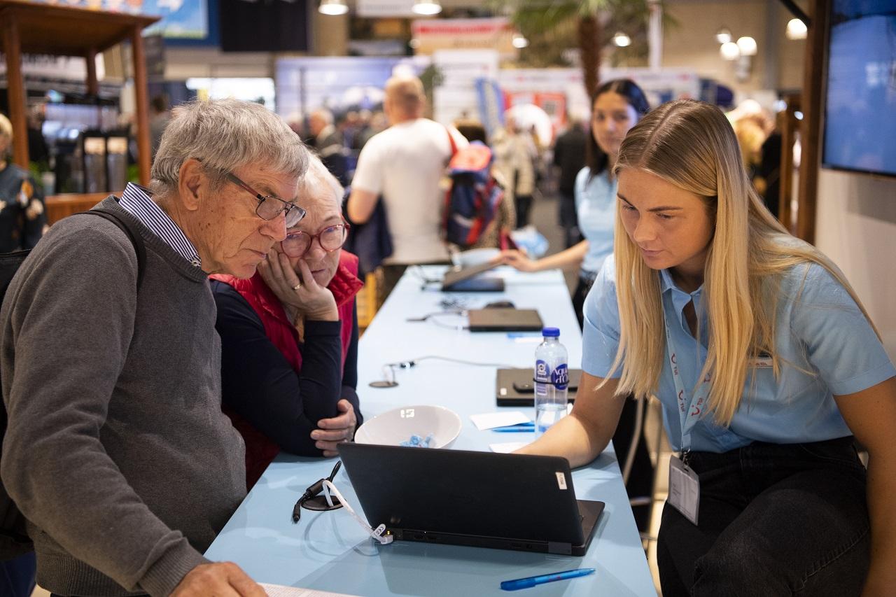 Ferie for alle - reisemesse -messecenter herning - jylland - danmark