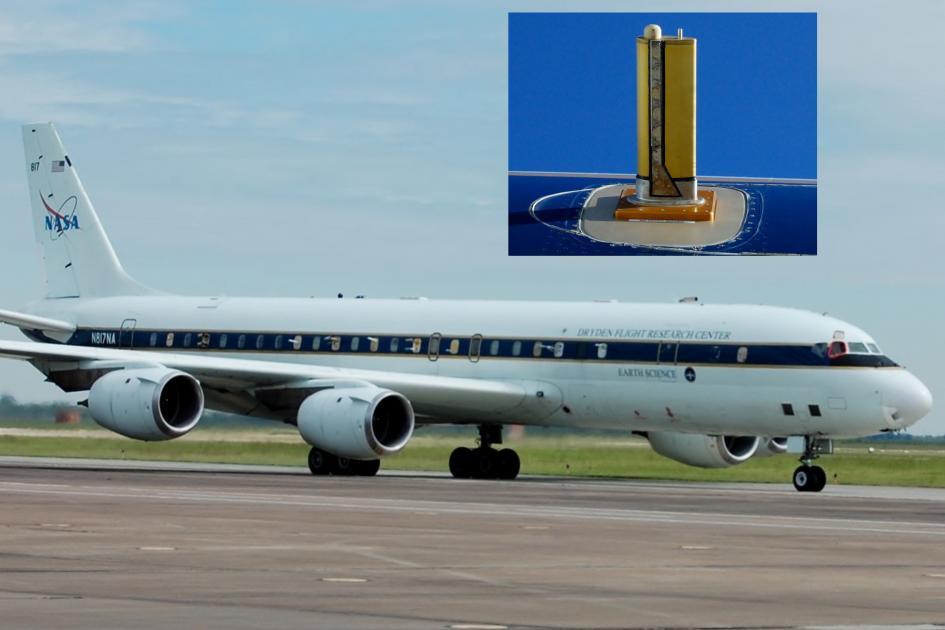 NASA - Forsøksfly - DC-8