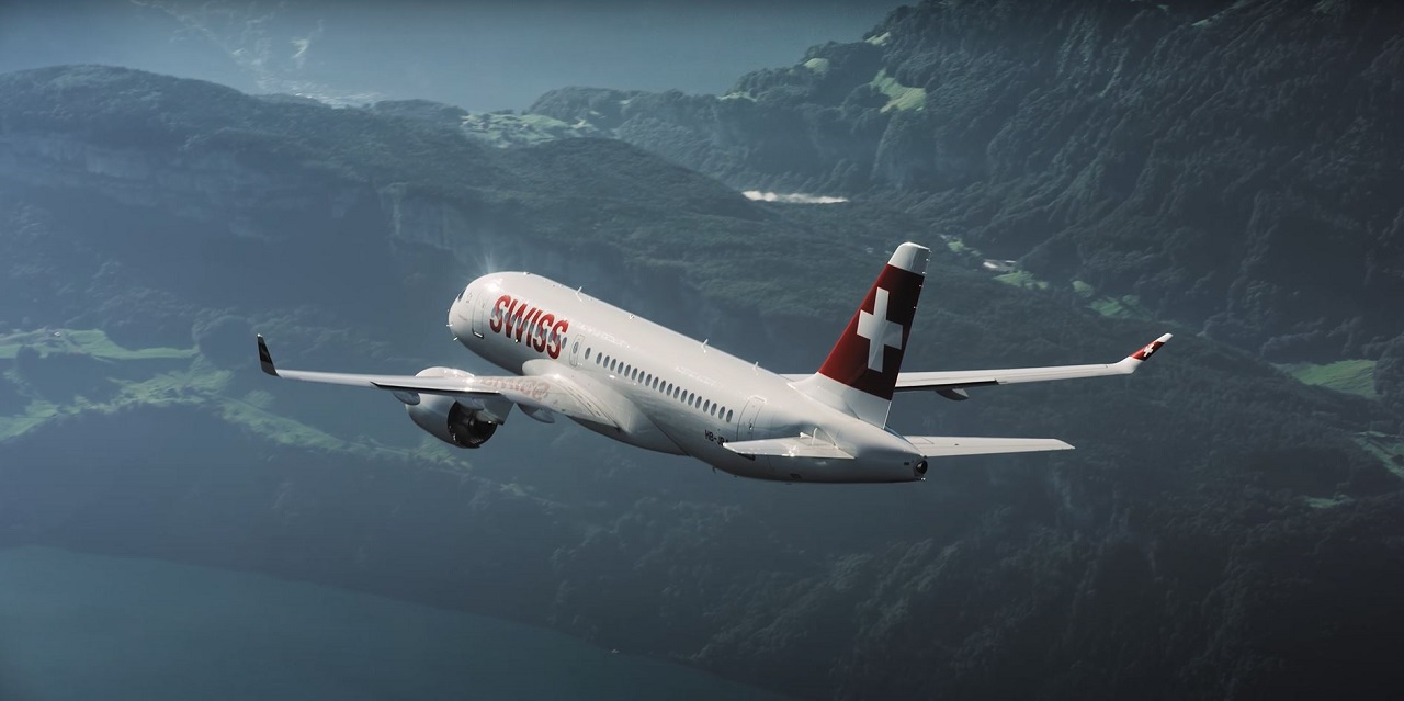 Swiss - Airbus A 220 - ex Bombardier CS