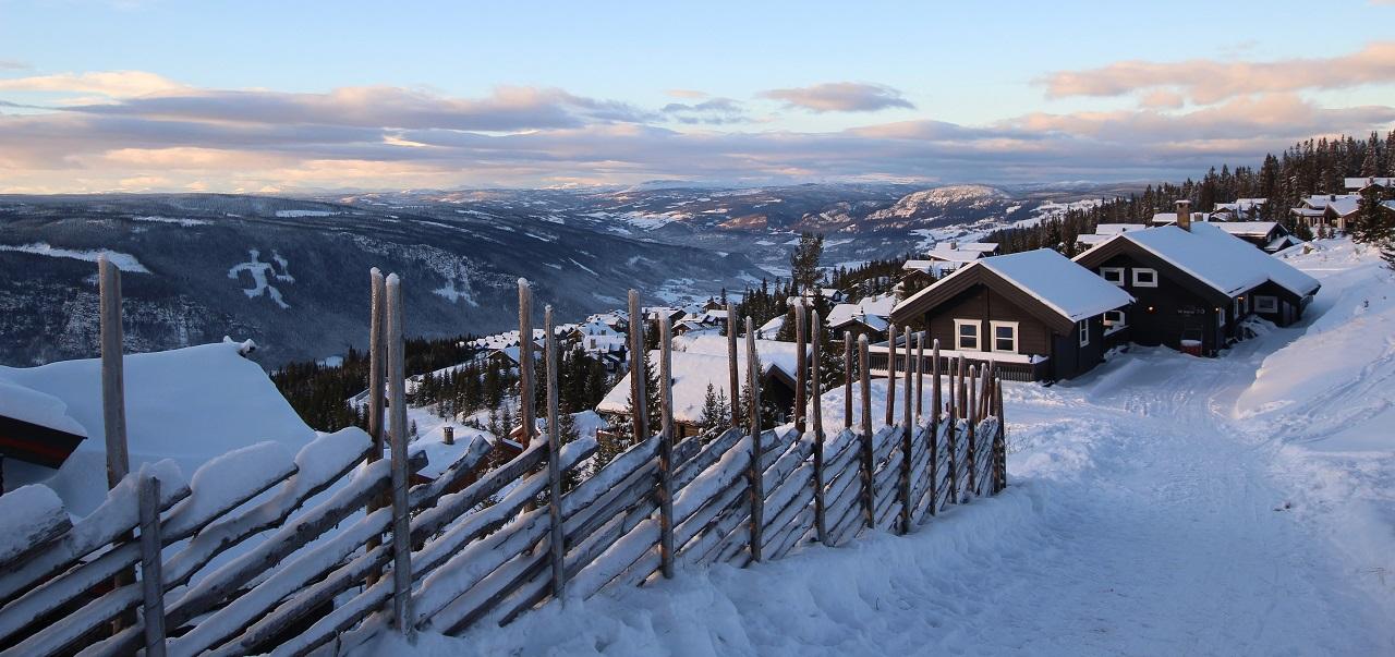 Hyttegrend - Vinter - Vinterferie - Norge