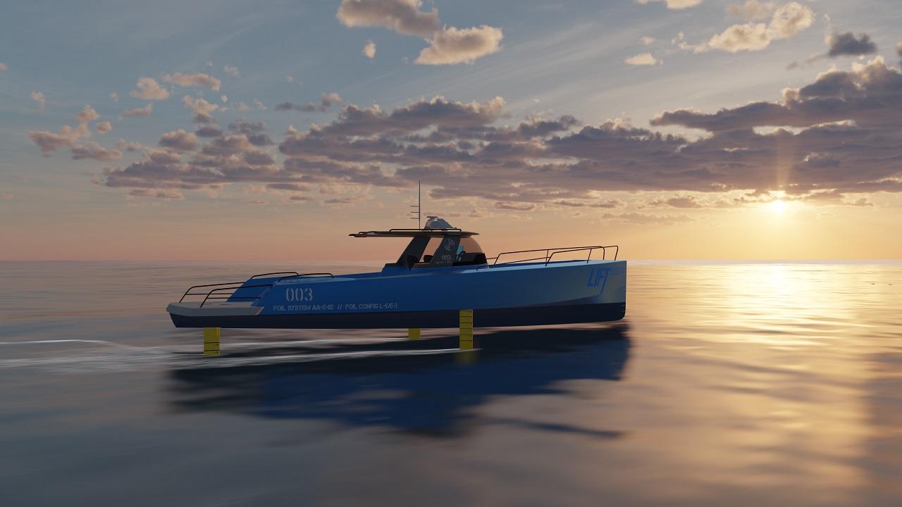 Lift Ocean -Hurtigbåt - Hydrofoilteknologi - Norsk teknologiutvikling
