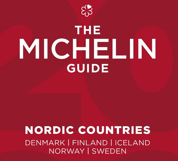 Bokomslag - Guide Michelin Nordic countries - 2021