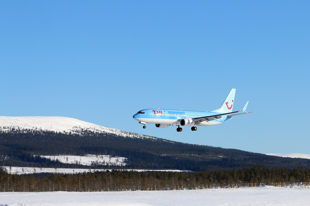 TUI - Boeing 737 - Innflyvning - Scandinavian Mountains Airport - 2021