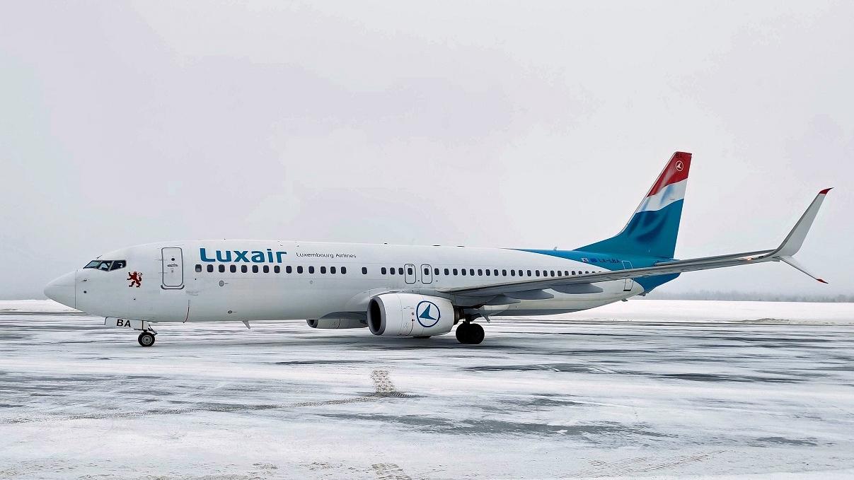 Luxair - Boeing 737 - Scandinavian Mountains Airport