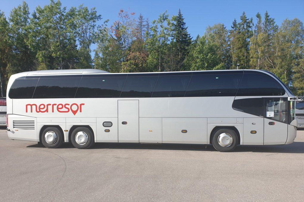 Langdistansebuss - Merresor - Transdev - Sverige