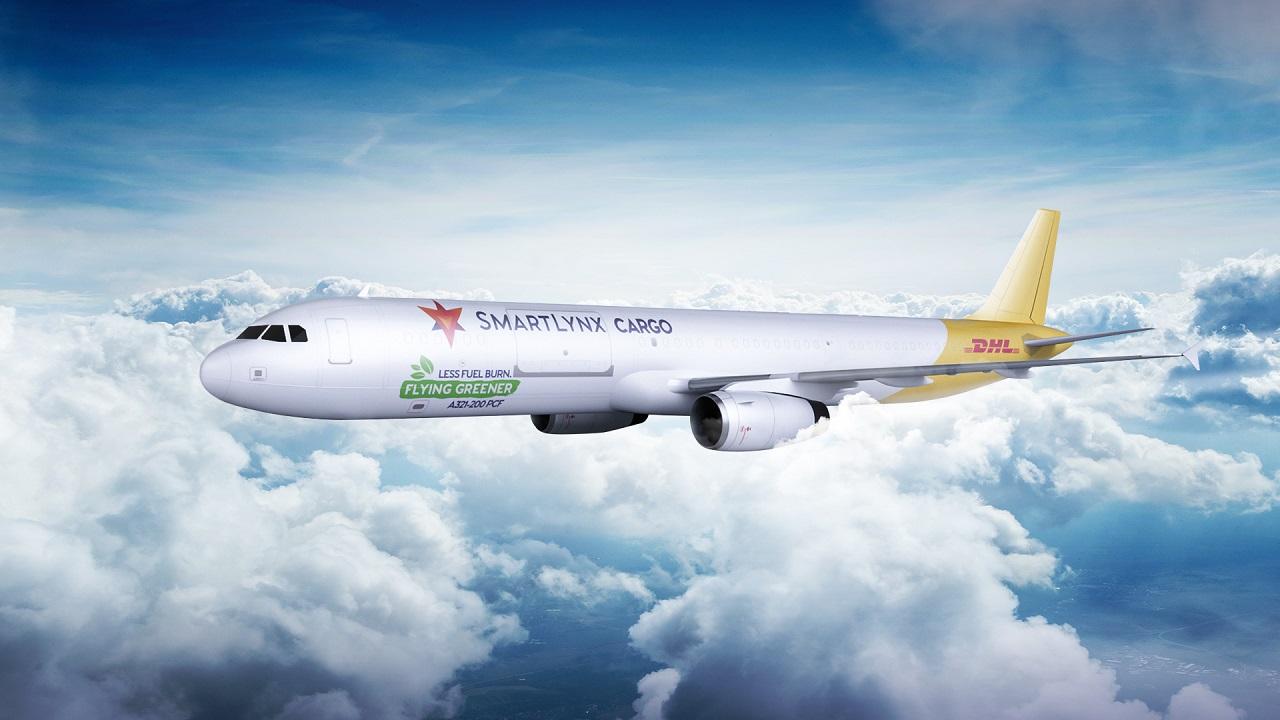 Airbus A 321-200 - green livery -fraktfly - DHL ExPress - SmartLynx Malta