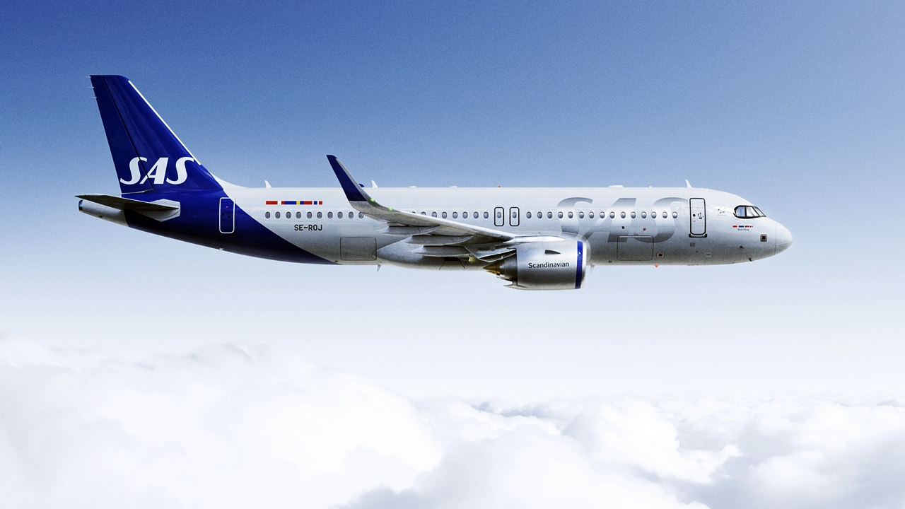 SAS - Airbus A320 - New Livery