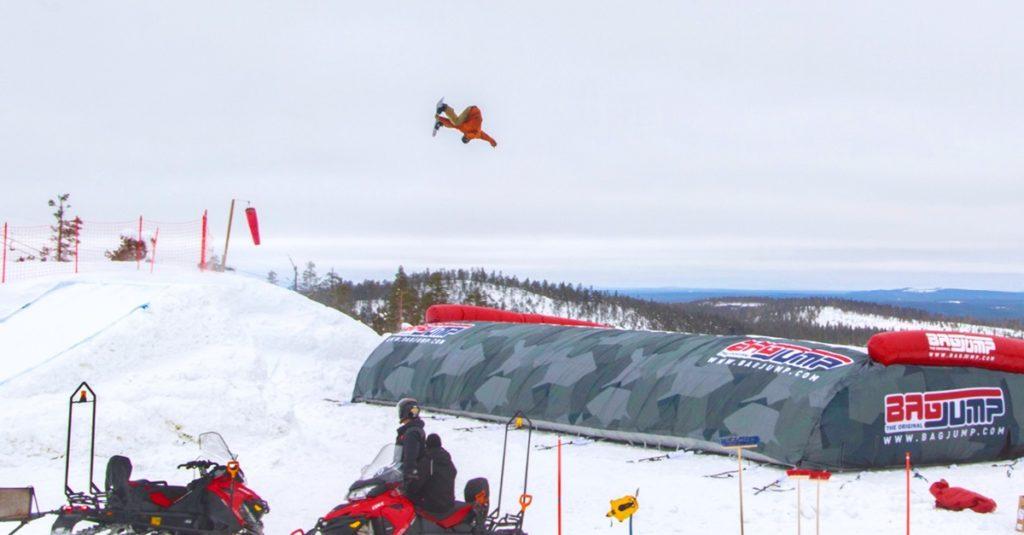 Airbag - Skianlegg - Ruka - Finland  - Skistar