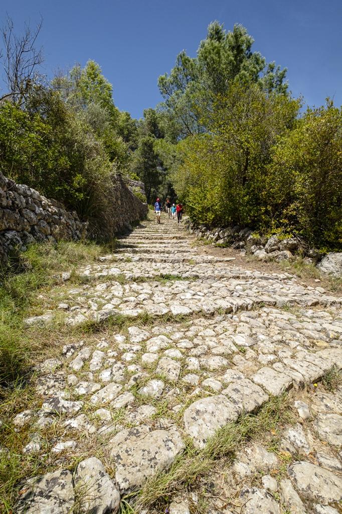 Camí des Rost - tursti - Sollerdalen - Mallorca - Spania