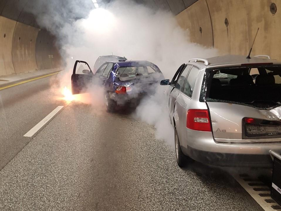 Beredskapsøvelse - Oslofjordtunnelen - E 134 - Statens vegvesen