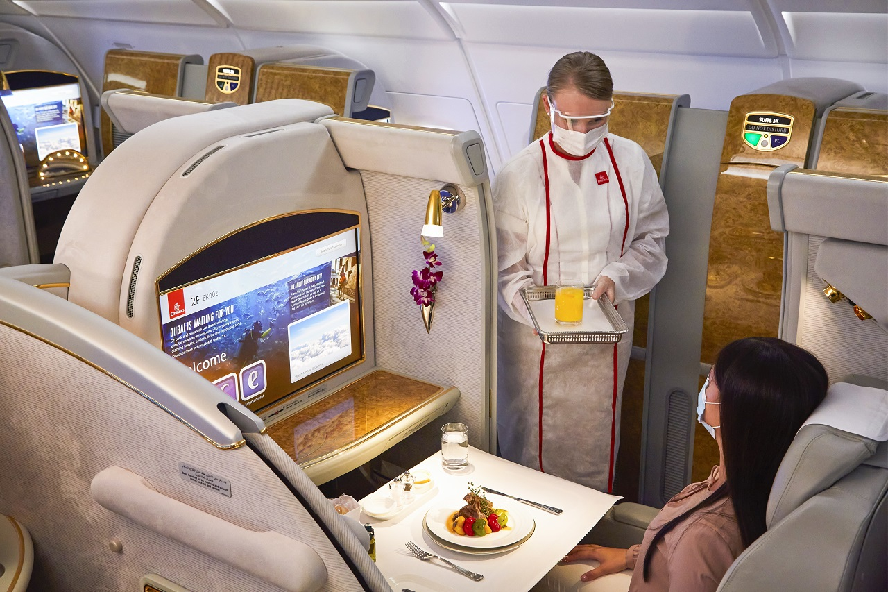 Emirates - Cabin - Service - Skywards