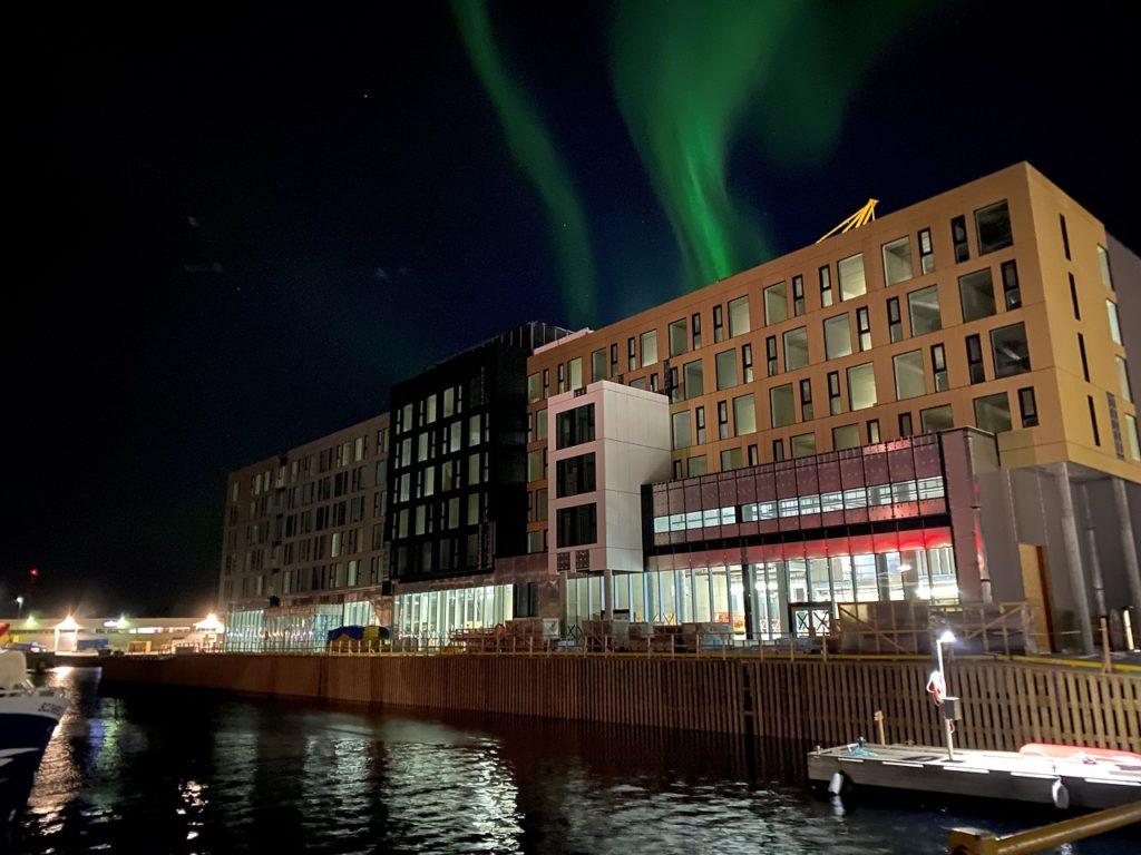Nordlys - Thon Hotel Svolvær - Lofoten - 2021