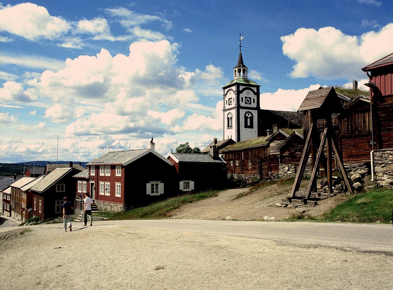 Røros - Bergstad - Gruveby - Verdensarv - UNESCO - Riksantikvaren