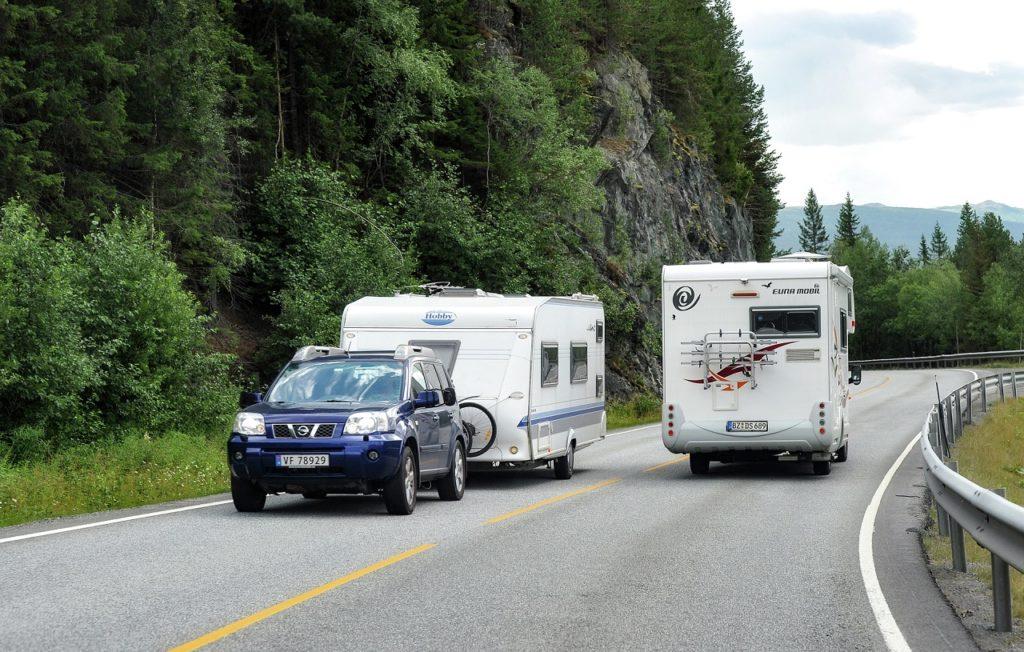 Campingbiler - Campingvogner - Smale norske veier - Vegvesenet
