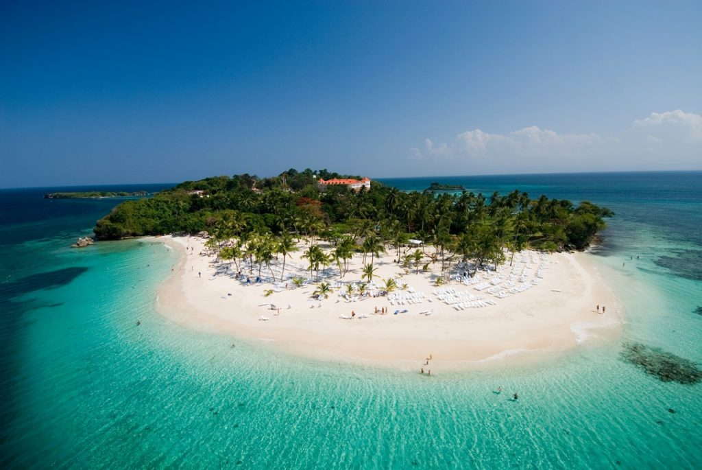Cayo Levantado island - Øy - Den Dominikanske republikk