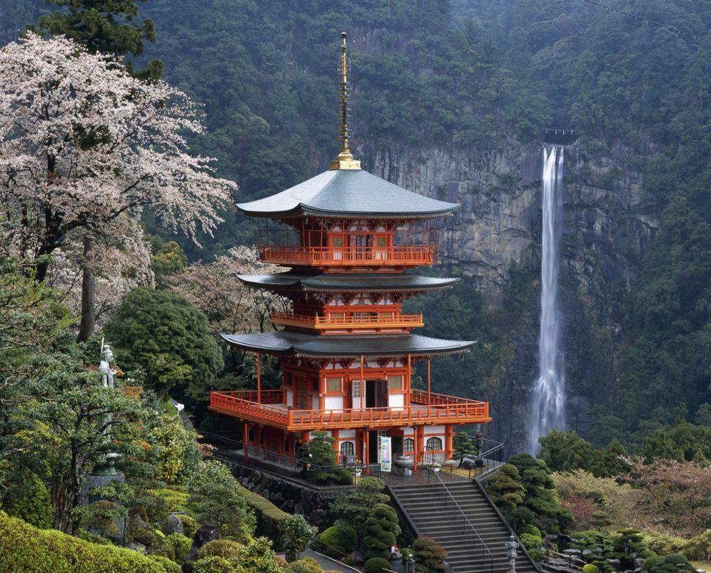 Nachi Waterfall - Wakayama-regionen -Osaka - Japan