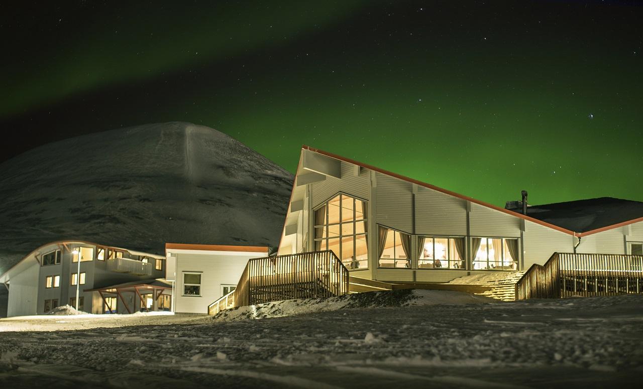 Polarhotellet - Longyearbyen - Svalbard - Hurtigruten - Store Norske