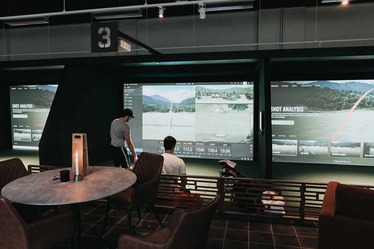 RUFF Indoor Golf Simulatorer - Scandic Infra CIty - Stockholm - Sverige