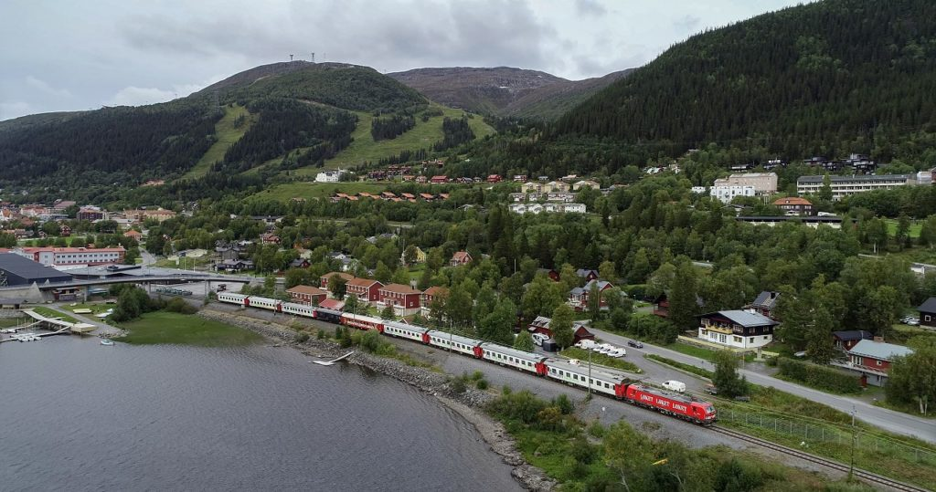 Snälltåget - Åreskutan - Sverige