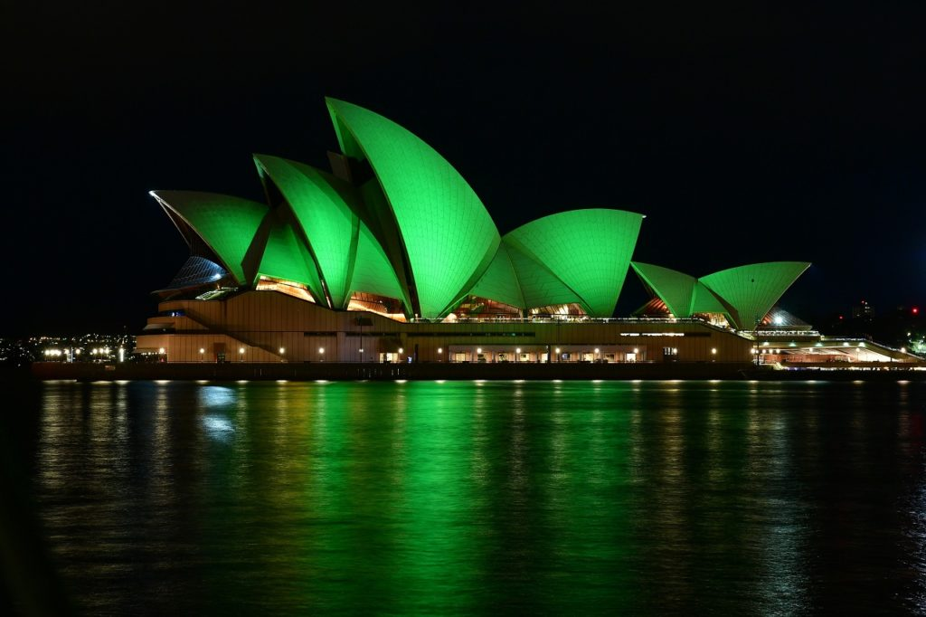 St. Patrick 2021 - Operahuset i Sydney - Tourism Ireland - Fiora Sacco