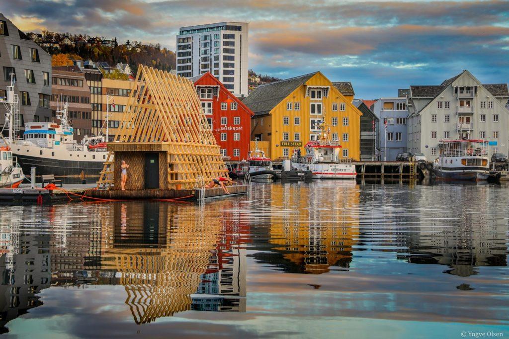 Pust - flytende sauna - Tromsø