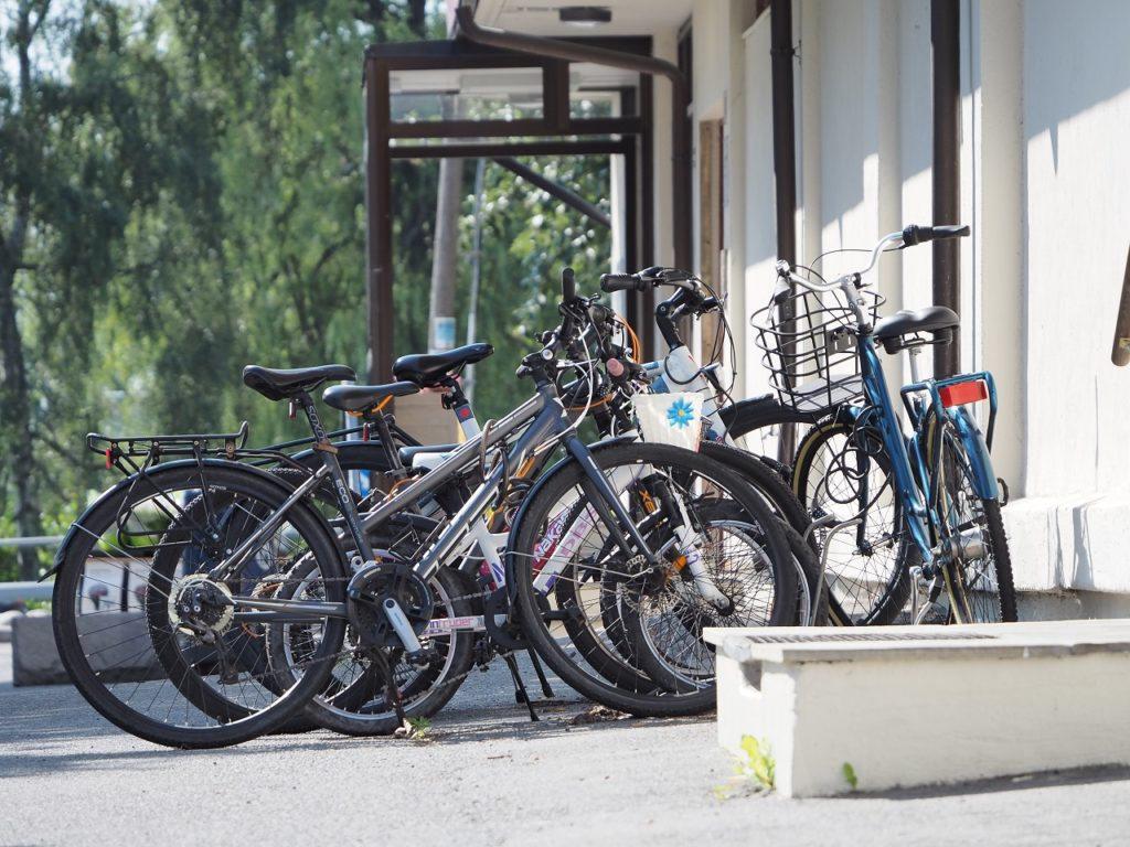 Parkerte sykler - elsykler - If skadeforsikring